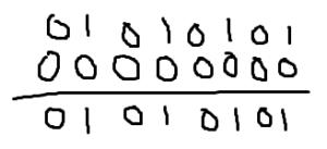 排他的論理和の計算